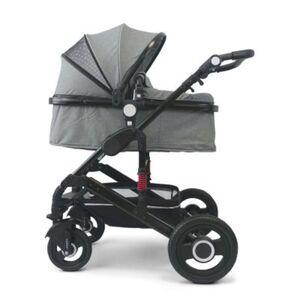 VCM Premium Set 2in1 Kombi - Kinderwagen, gefederter Babywagen Alu VCM Premium Kinderwagen 2in1 (Farbe: Anthrazit)