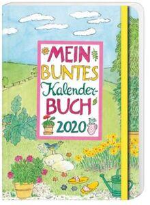Mein buntes Kalenderbuch Wochenplaner 2020