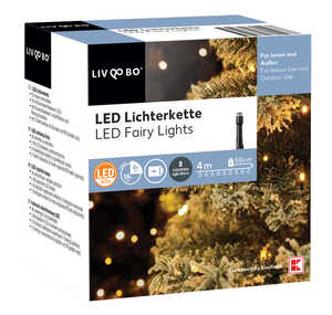 LIV&BO®  LED-Lichterkette