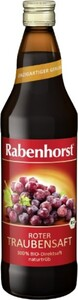 Rabenhorst Bio Roter Traubensaft 750 ml