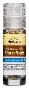 Herbaria Bio Bauern Brotzeitsalz Mini-Mühle 19 g