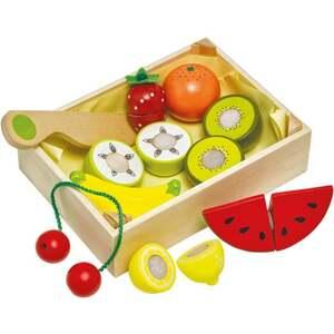 """IDEENWELT Holz-Kiste """"Obst"""""""
