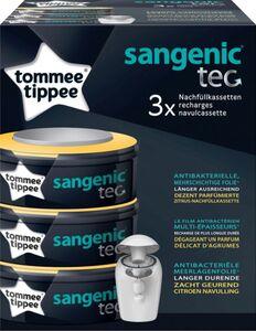 3er Pack Nachfüllkassetten für Sangenic tec Windeltwister - mit Zitrusduft - Tommee Tippee