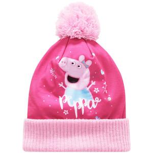 Peppa Pig Mütze mit Bommel