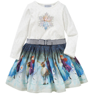 Die Eiskönigin 2 Kleid mit Glitzer-Print