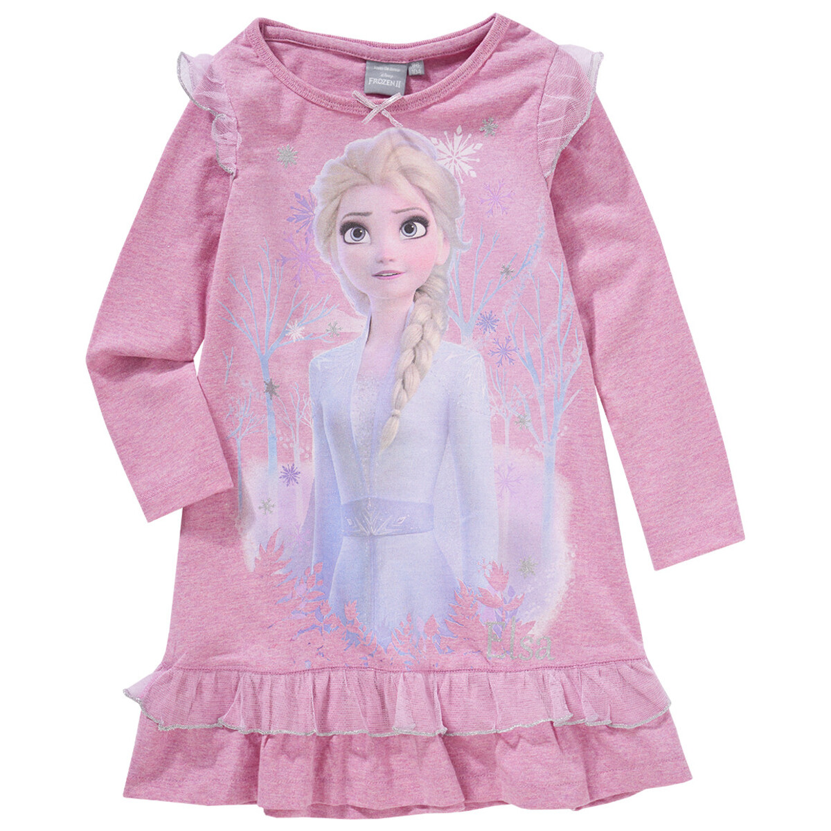 Bild 1 von Die Eiskönigin 2 Nachthemd mit Rüschen