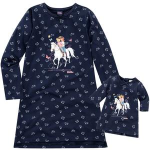 Bibi & Tina Nachthemd und Puppen-Nachthemd