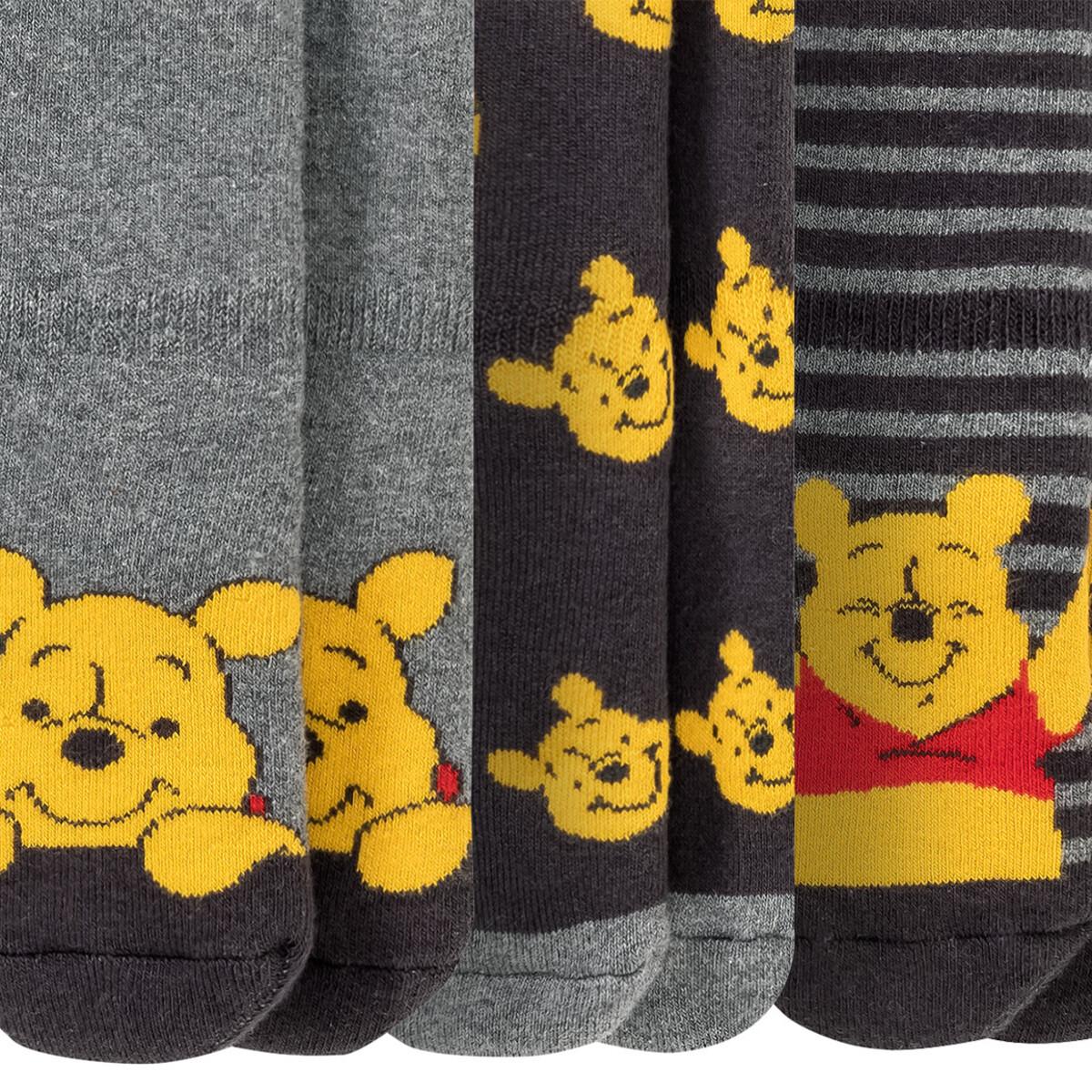 Bild 2 von 3 Paar Winnie Puuh Vollfrottee-Socken im Set