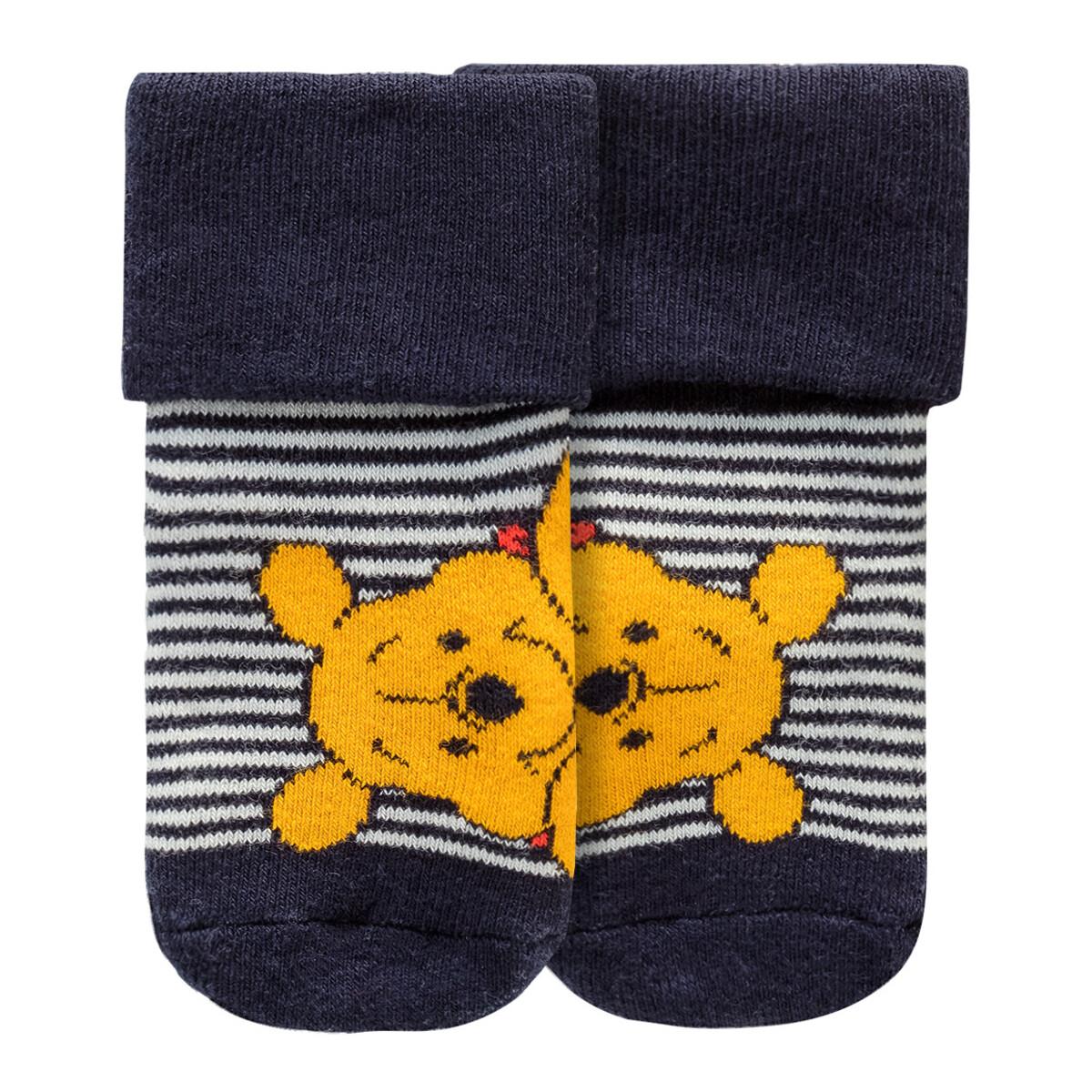 Bild 3 von 2 Paar Winnie Puuh Newborn Socken im Set