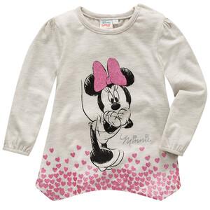 Minnie Maus Langarmshirt mit Glitzer-Details