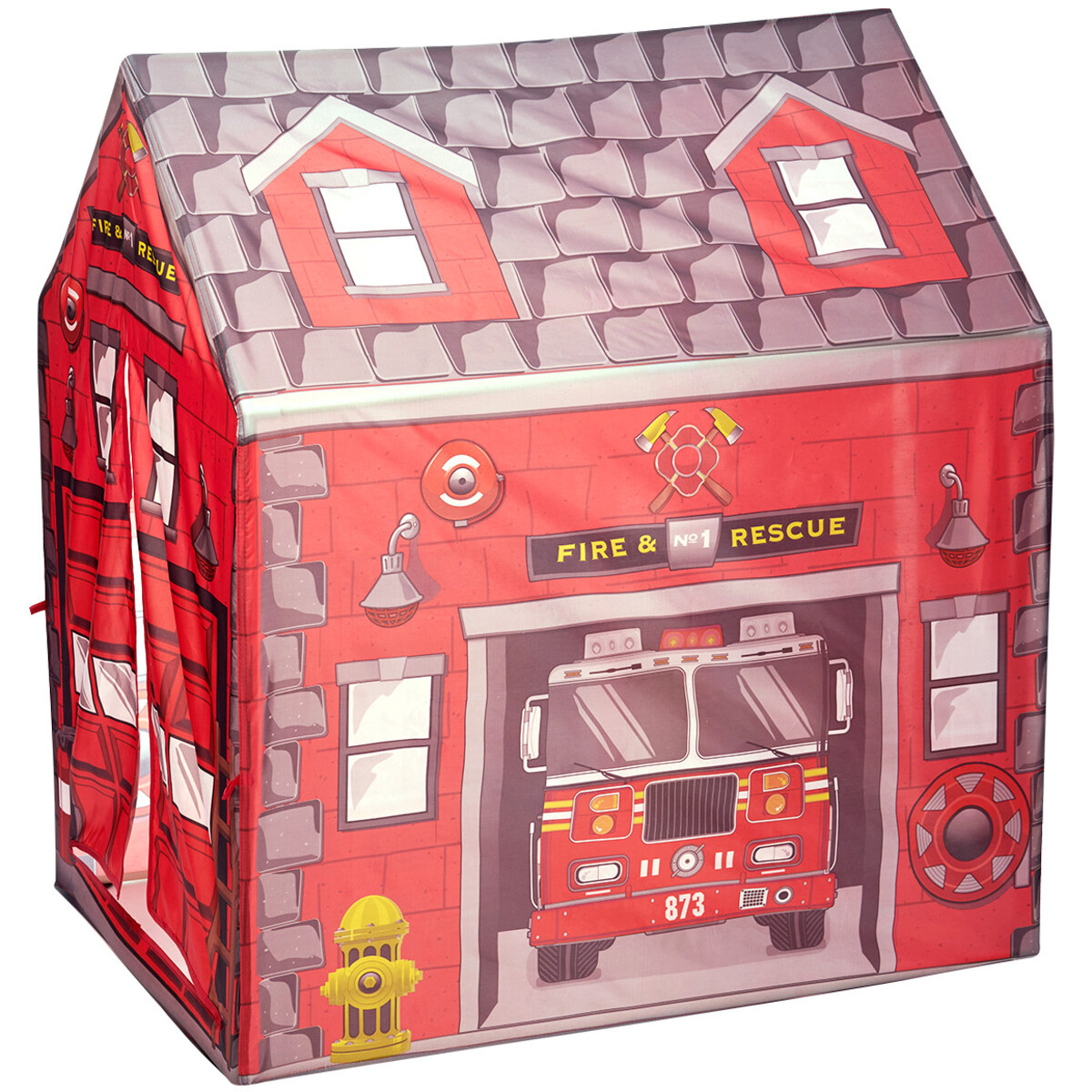 Bild 3 von Kinderspielzelt im Feuerwehr-Dessin