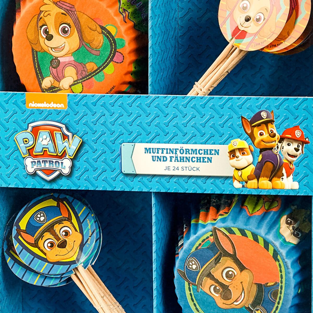 Bild 2 von PAW Patrol Muffin-Förmchen und Fahnen im Set