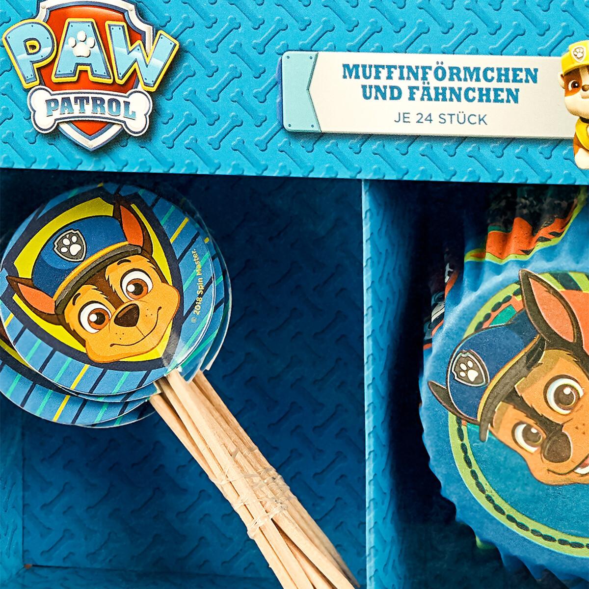 Bild 4 von PAW Patrol Muffin-Förmchen und Fahnen im Set