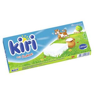 Kiri Dippi 10er Portion Schmelzkäse aus Frischkäse, 65 % Fett i. Tr., jede 180-g-Packung