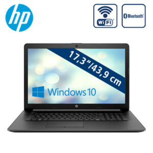 Notebook 17-ca0563ng • blendfreies HD+-Display • AMD A4-9125 Dual Core (bis zu 2,6 GHz) • AMD Radeon™ R3 Grafikkarte • USB 3.1, USB 2.0, HDMI • DVD-Writer