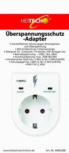 Heitech Überspannungsschutz-Adapter
