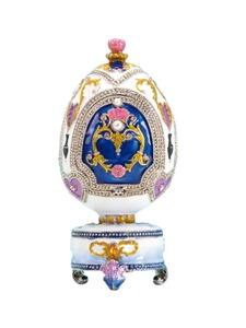 Schmuckbox Fabergés mit Spieluhr