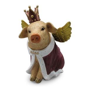 Deko-Objekt Glücksschweinchen