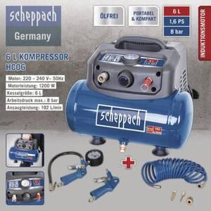 Scheppach Kompressor HC06 6L