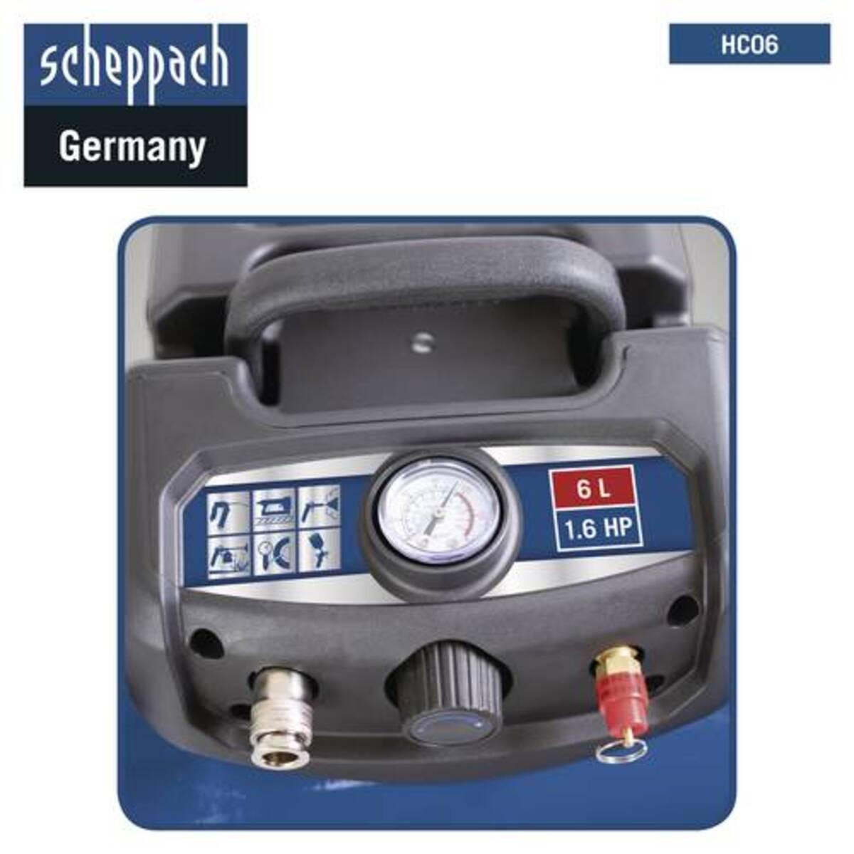 Bild 5 von Scheppach Kompressor HC06 6L