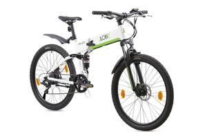 """Llobe E-Bike 26"""" Alu Faltrad FML-810 white"""