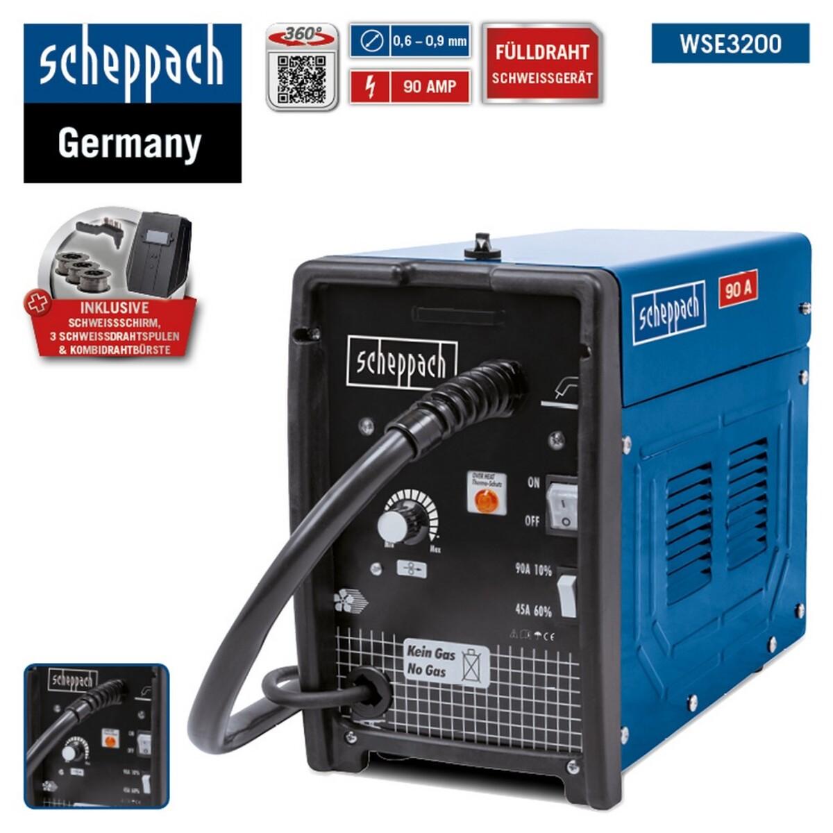 Bild 1 von Scheppach Schweissgerät WSE3200
