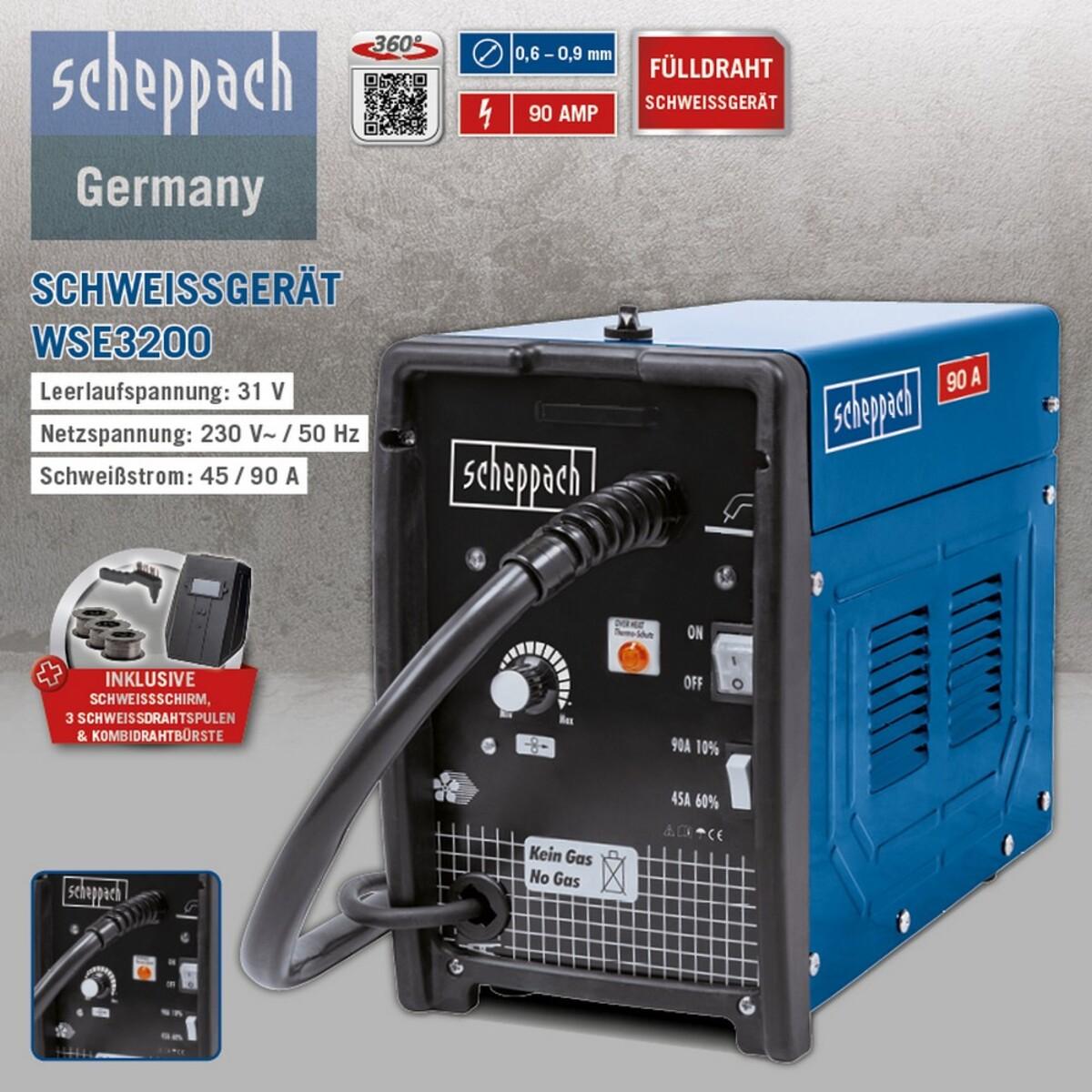 Bild 3 von Scheppach Schweissgerät WSE3200
