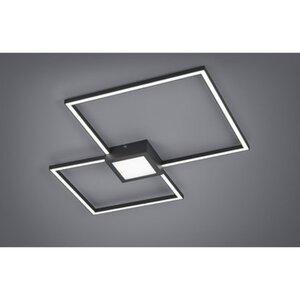 Trio LED-Deckenlampe Hydra Anthrazit 1-flammig 28 W EEK: A