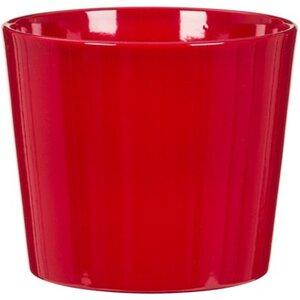 Scheurich Übertopf 870 Ø 12 cm Red