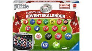 Ravensburger Puzzle - 3D Puzzle-Ball - Bundesliga Adventskalender Saison 2019/2020