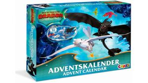 CRAZE 19573 - Adventskalender Dragons