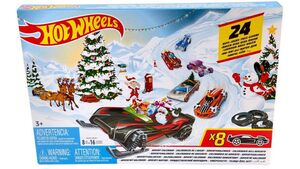Mattel FYN46 - Hot Wheels - Adventskalender