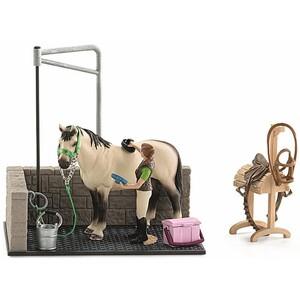 Schleich - Tierfiguren, Waschplatz; 42104