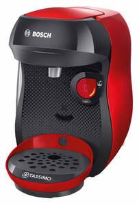 TASSIMO Kaffeekapselmaschine Happy TAS1003, rot