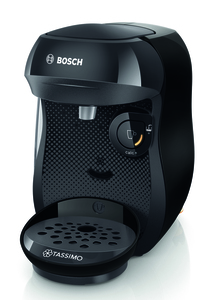TASSIMO Kaffeekapselmaschine Happy TAS1002, schwarz