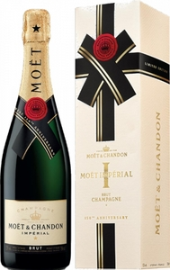 Moët & Chandon Impérial brut Champagner in Geschenkbox Edition End-of-Year EOY 2019 Champagne Frankreich | 12 % vol | 0,75 l