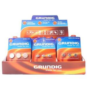 Grundig Knopfzellenbatterien Set 3-teilig in 12 Ausführungen