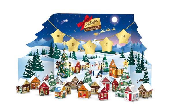 Ferrero die Besten Adventskalender 255g Bastelset Weihnachtsdorf