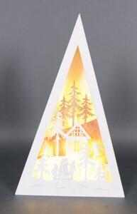TrendLine LED Winterlandschaft ,  Holzobjekt
