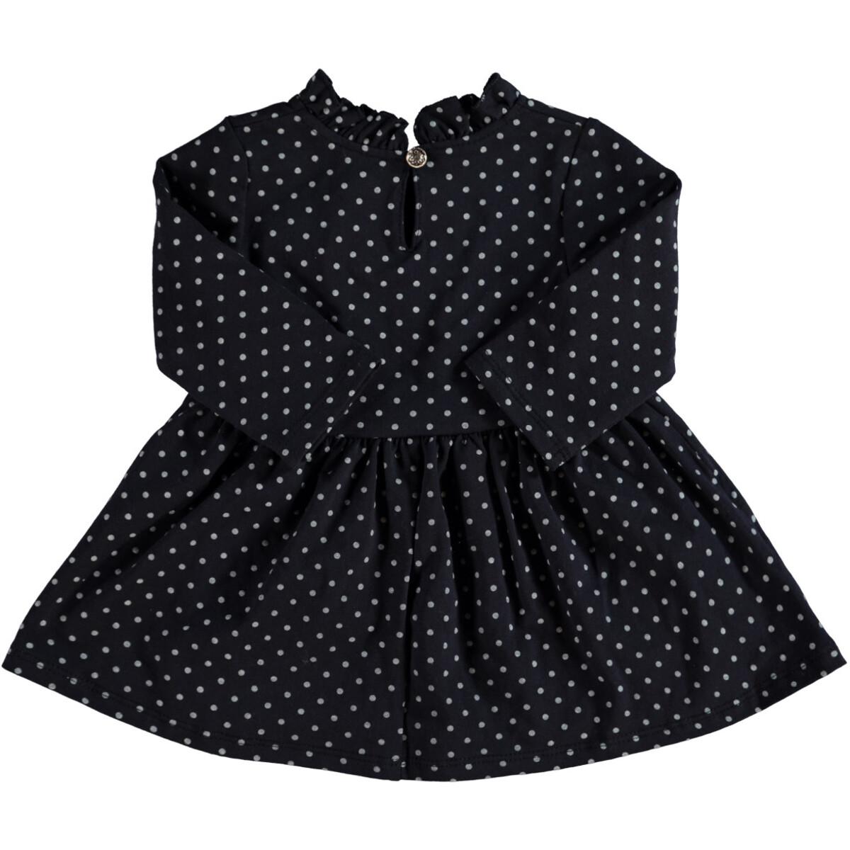 Bild 2 von Baby Kleidchen mit Punkte-Alloverprint