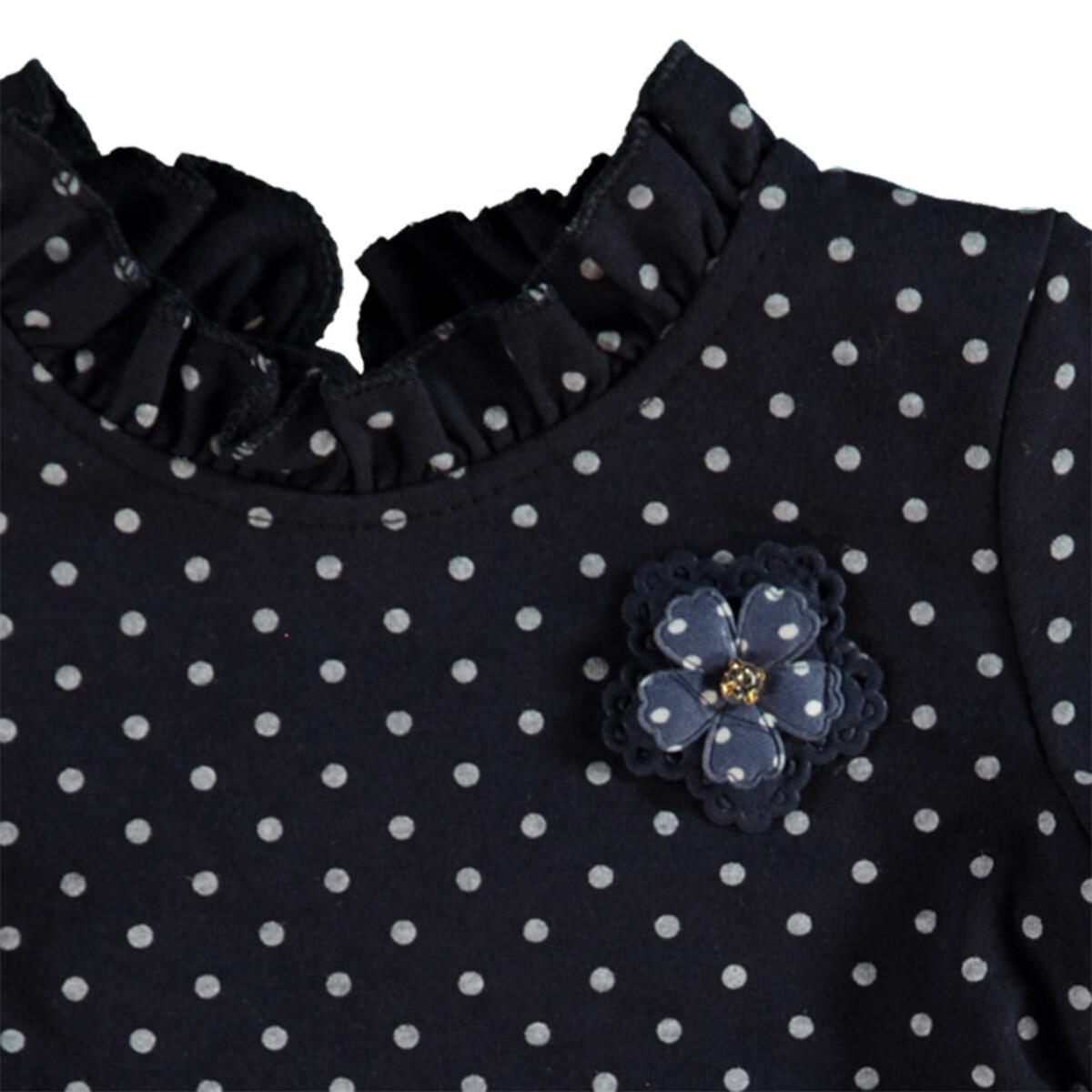 Bild 3 von Baby Kleidchen mit Punkte-Alloverprint
