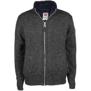 Herren Strickjacke in grober Optik