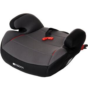 Osann Kindersitz , Sitzerhöhung Junior Nero mit GURTFIX - Befestigungsart: ISOFIX oder 3-Punkt-Gurt  - 15 bis 36 kg (3 bis 12 Jahre) - anthrazit, schwarz