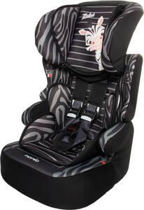 Osann Kindersitz Beline SP Zebra - 9 bis 36 kg (8 Monate bis 12 Jahre) - Befestigungsart 3-Punkt-Gurt - schwarz , grau