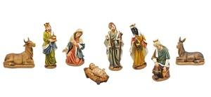 Krippenfiguren Klassisch 9tlg.
