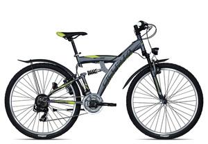 Ciclista Fully KX27.5 2017 | 52 cm | grau
