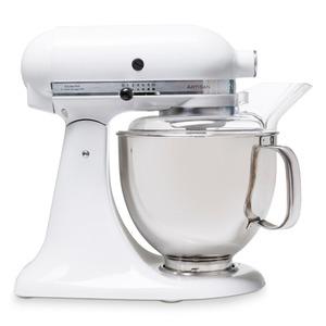 KitchenAid Küchenmaschine Artisan 4,8l, Weiß 8tlg.