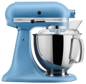 KitchenAid Küchenmaschine Artisan 4,8l Vintage Blue 8tlg.