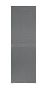Telefunken KTFK271FS2 Kühl-Gefrier-Kombination /110 L Kühlschrank / 38 L Gefrierschrank / 148 kWh/Jahr / Temperaturregelung / Abtauautomatik / silber [Energieklasse A++]