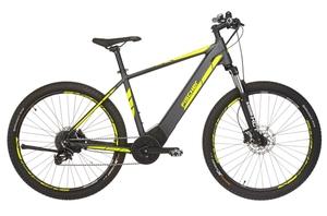 Fischer Mountain-E-Bike MONTIS 5.0i, 27,5 Zoll, schiefergrau matt
